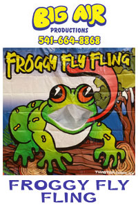 Big Air Froggy Fly Fling
