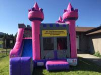 Big Air Jumphouses Princess Combo