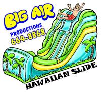 Big Air Tropical Wet & Dry Slide