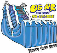 Big Air Mungo Surf Water Slide