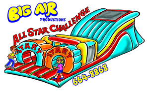 Big Air All Star Obstacle Course
