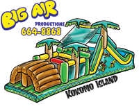 Big Air Dragon Obstacle Course